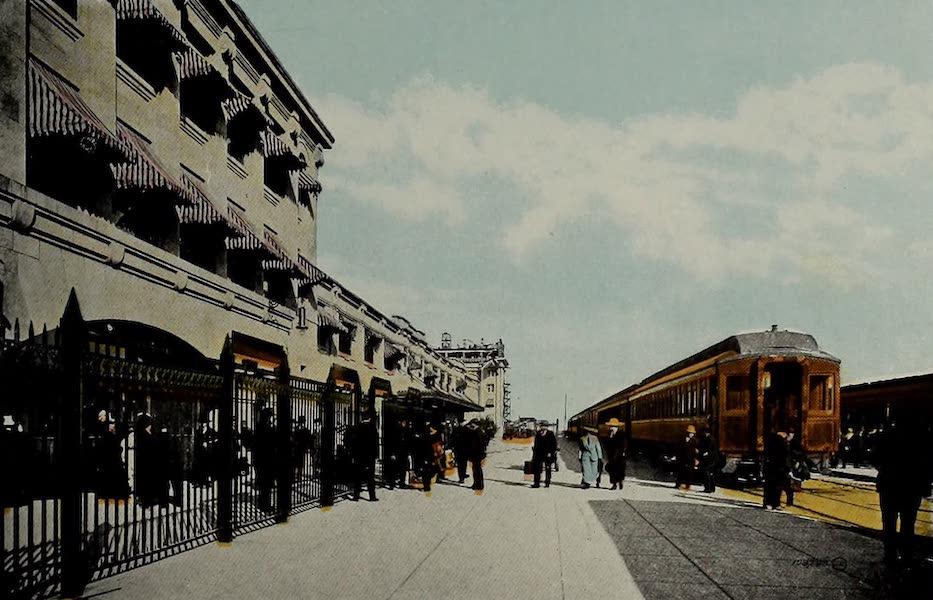 Souvenir of Calgary, Alta. - C.P.R. Station (1912)