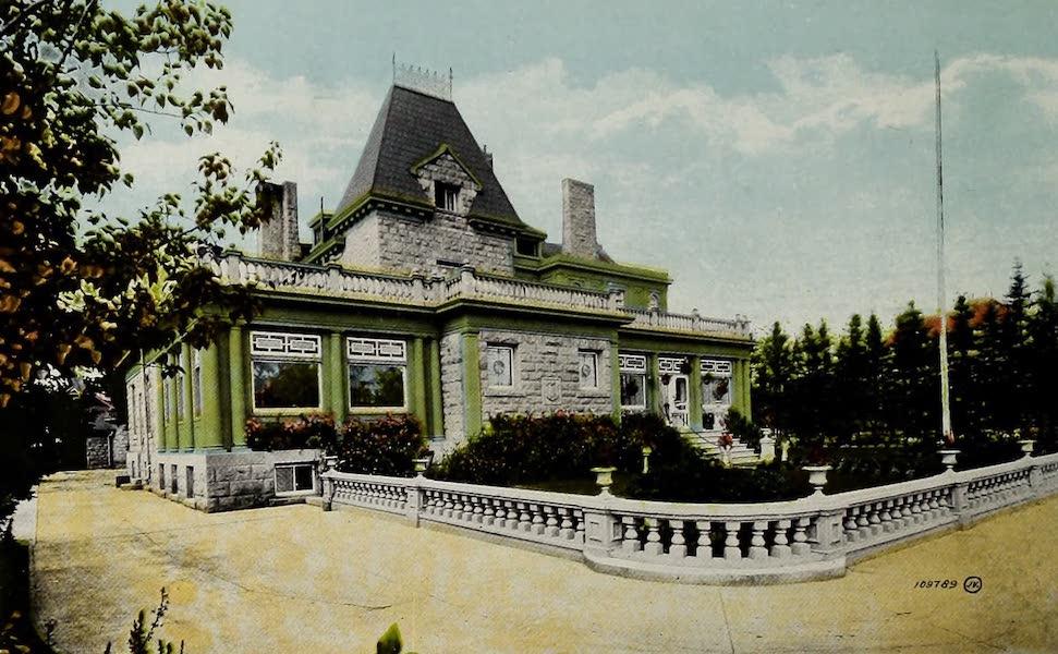 Souvenir of Calgary, Alta. - Senator Lougheed's Residence (1912)