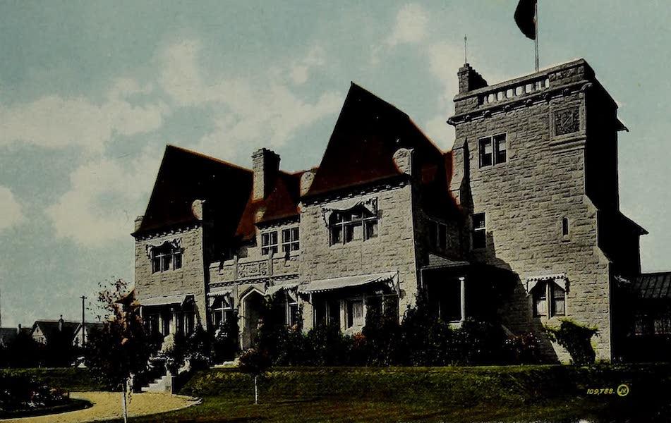 Souvenir of Calgary, Alta. - The Burns Residence (1912)