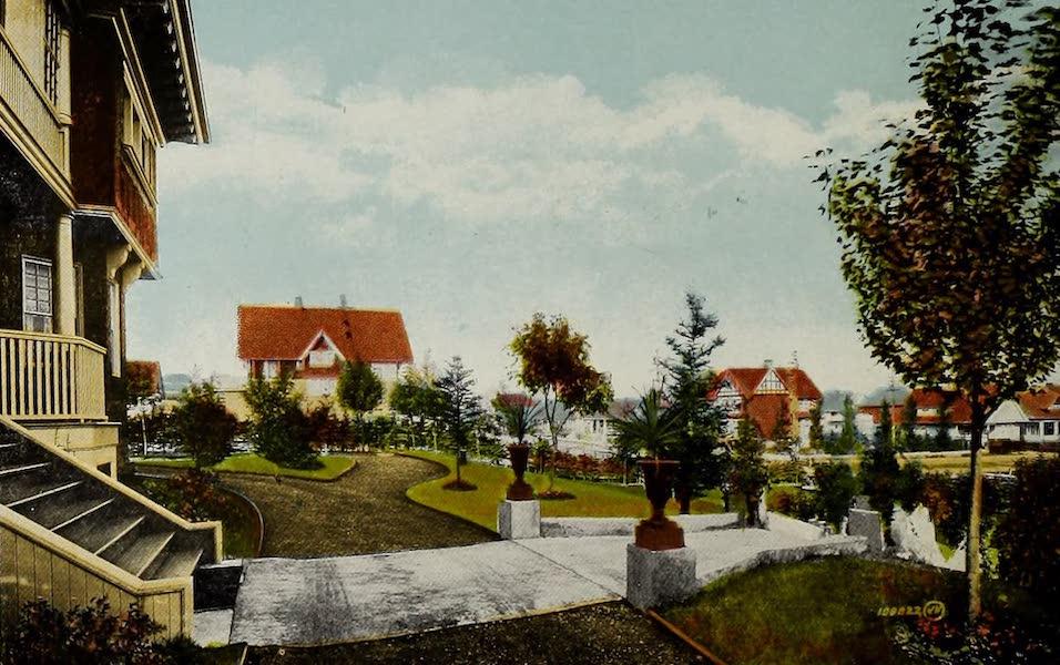 Souvenir of Calgary, Alta. - A Mount Royal Garden (1912)