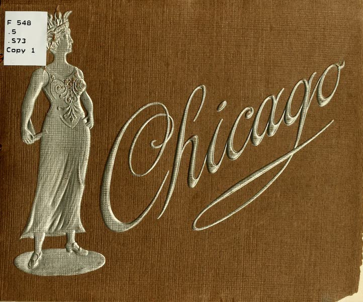 Souvenir of Chicago in Colors - Front Cover (1910)