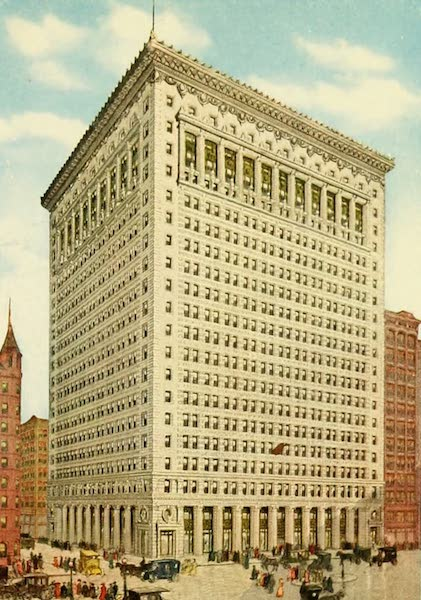 Souvenir of Chicago in Colors - The Peoples Gas Building (1910)