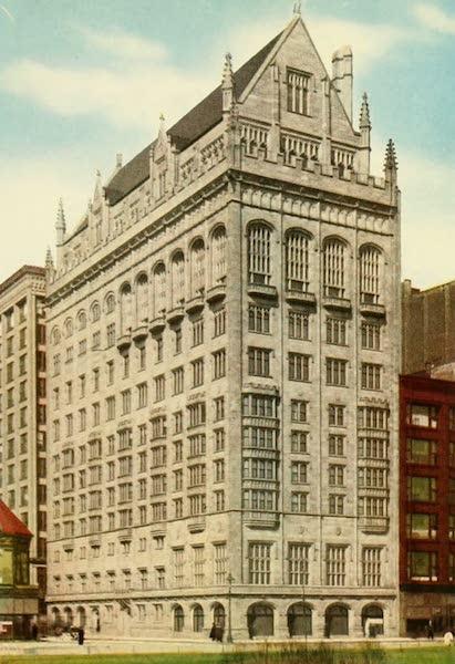 Souvenir of Chicago in Colors - University Club (1910)