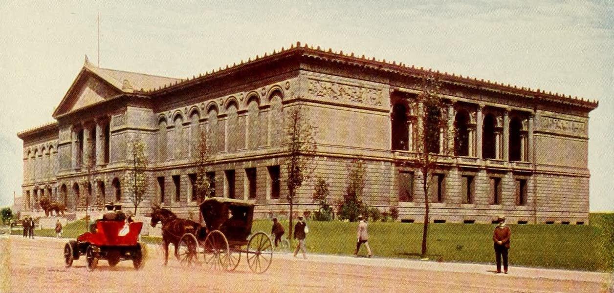 Souvenir of Chicago in Colors - Art Institute (1910)