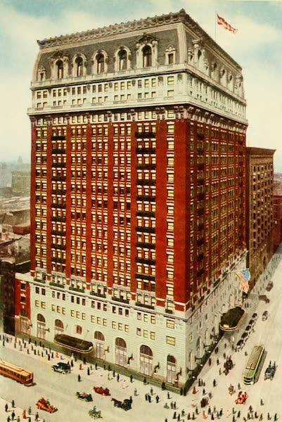 Souvenir of Chicago in Colors - Hotel La Salle (1910)