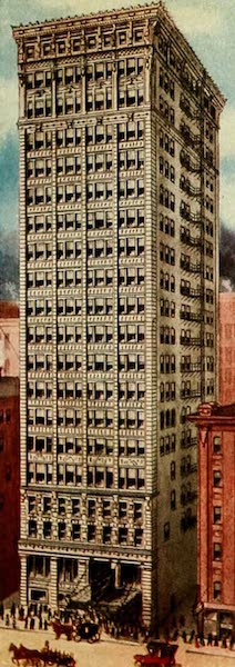 Souvenir of Chicago in Colors - Majestic Building (1910)