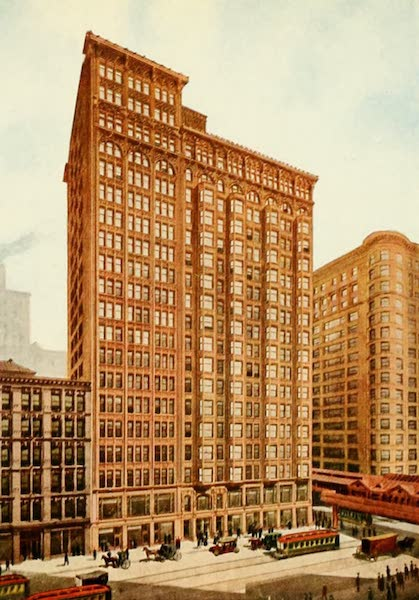 Souvenir of Chicago in Colors - Fisher Building (1910)