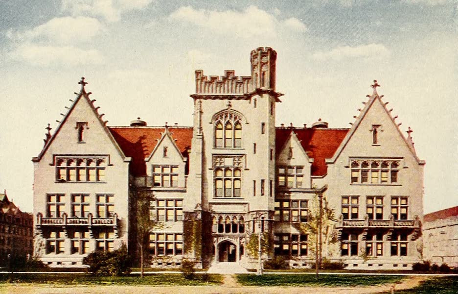 Souvenir of Chicago in Colors - Ryerson Physical Laboratory (1910)