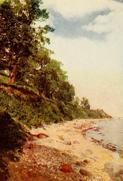 Souvenir of Chicago in Colors - Shores of Lake Michigan (1910)