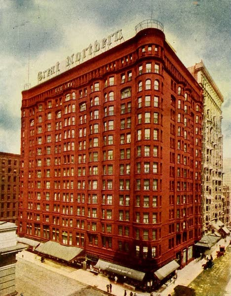 Souvenir of Chicago in Colors - Great Northern Hotel (1910)