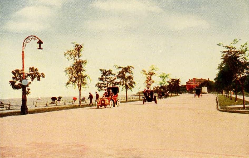 Souvenir of Chicago in Colors - Lake Shore Drive (1910)