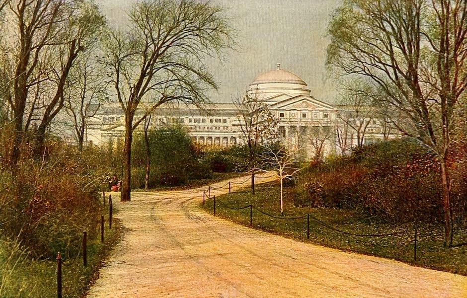 Souvenir of Chicago in Colors - Field Columbian Museum, Jackson Park (1910)