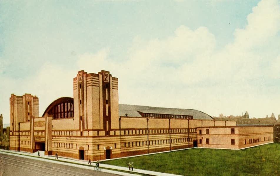 Souvenir of Chicago in Colors - Seventh Regiment Armory (Thirty-third Street and Wentworth Avenue) (1910)