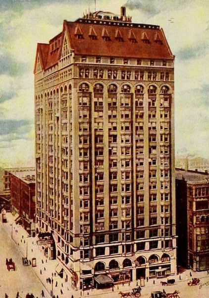 Souvenir of Chicago in Colors - Masonic Temple (1910)
