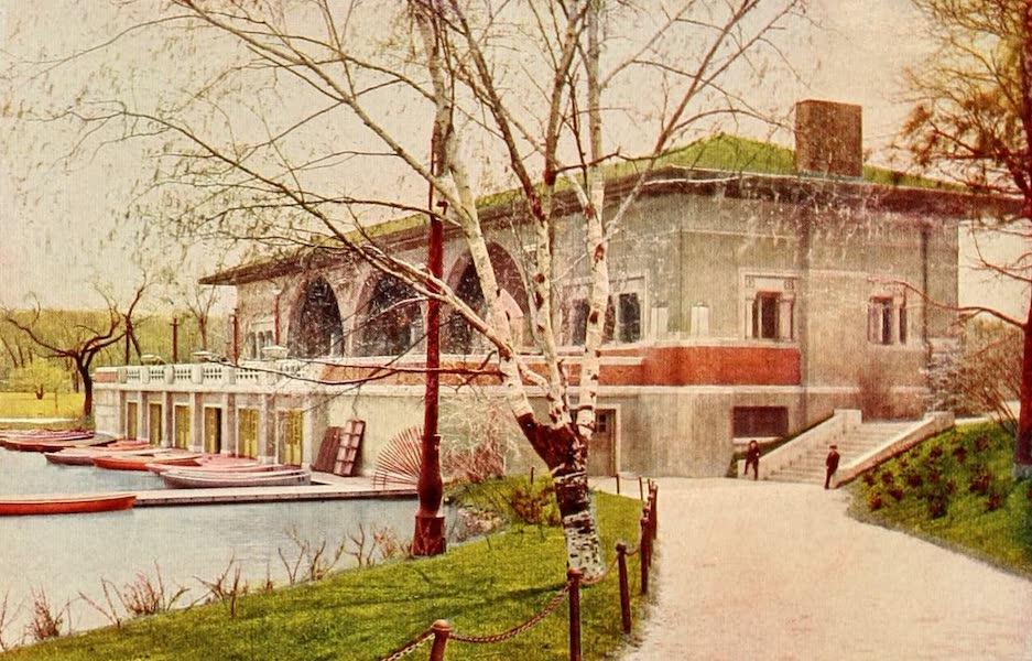 Souvenir of Chicago in Colors - New Pavilion, Humboldt Park (1910)