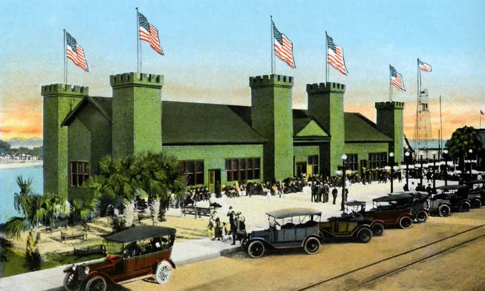Souvenir of Daytona and Daytona Beach, Florida - The Casino Burgoyne, Daytona (1917)