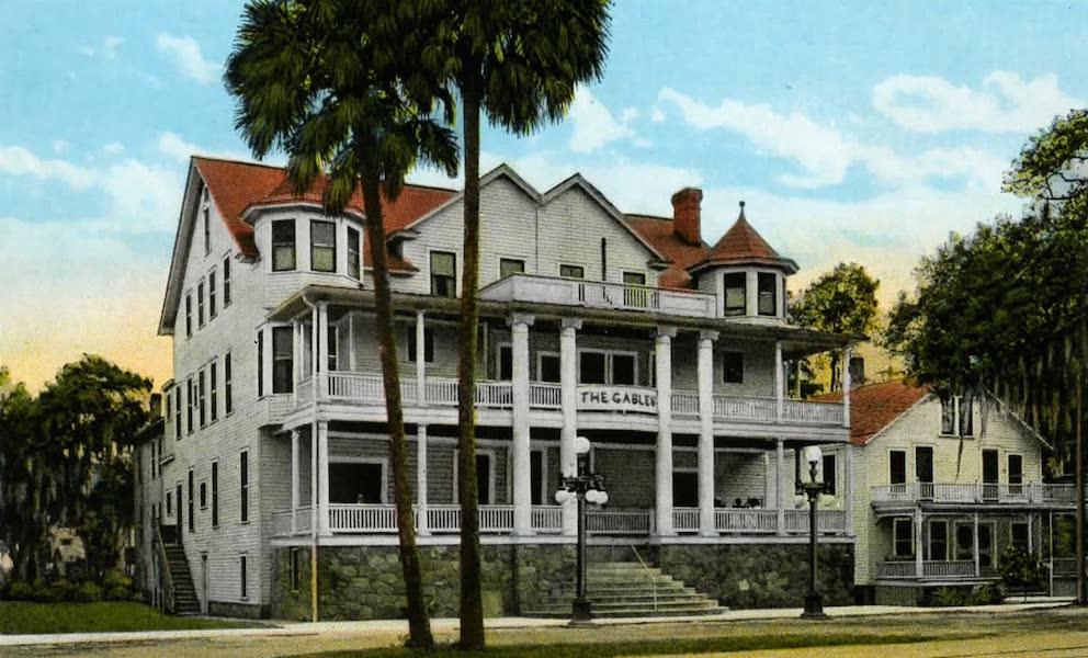 Souvenir of Daytona and Daytona Beach, Florida - The Gables, Daytona (1917)