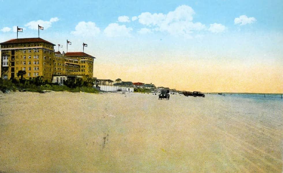 Souvenir of Daytona and Daytona Beach, Florida - Clarendon Hotel, on the Atlantic Ocean, Seabreeze (1917)