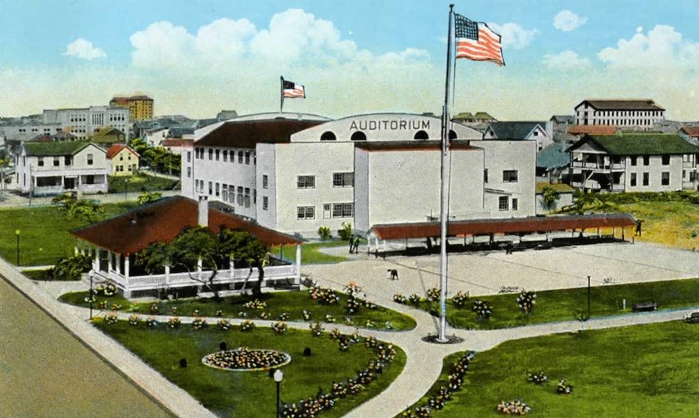 Souvenir of Daytona and Daytona Beach, Florida - Auditorium and Tourists Headquarters, Daytona Beach (1917)