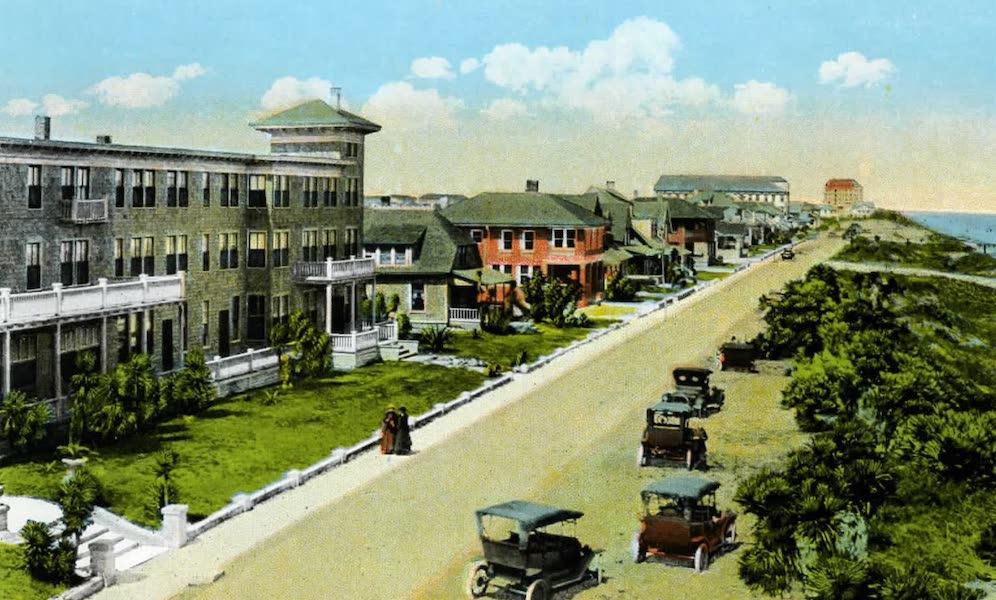 Souvenir of Daytona and Daytona Beach, Florida - Atlantic Avenue, Daytona Beach (1917)