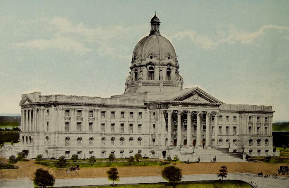 Souvenir of Edmonton, Alta. - Parliament Buildings (1910)