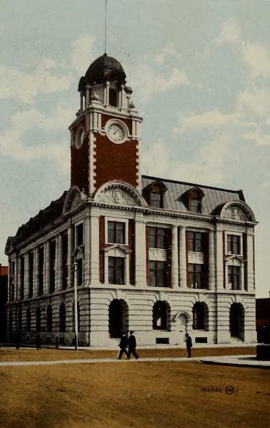 Souvenir of Edmonton, Alta. - Post Office (1910)