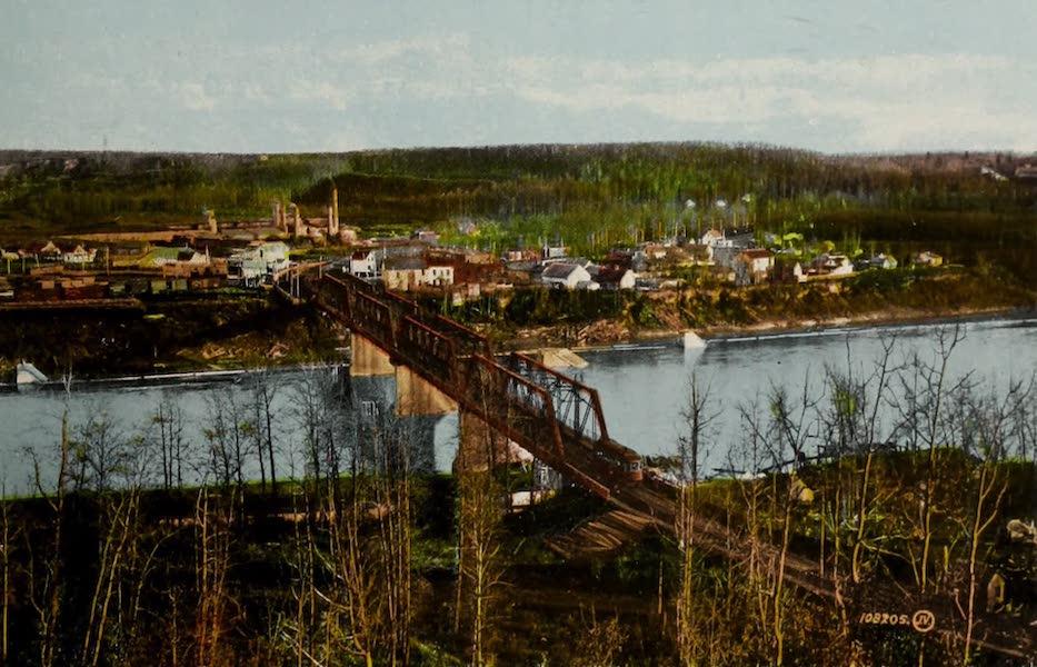 Souvenir of Edmonton, Alta. - Strathcona Bridge (1910)