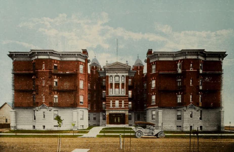 Souvenir of Edmonton, Alta. - Rene Lemarchand Mansion (1910)