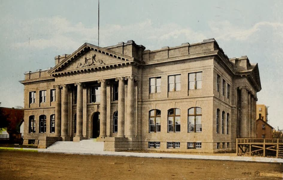 Souvenir of Edmonton, Alta. - Court House (1910)