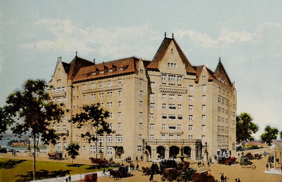 Souvenir of Edmonton, Alta. - Grand Trunk Pacific New Hotel (1910)