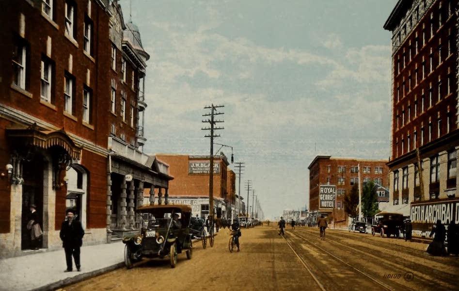 Souvenir of Edmonton, Alta. - First Street North (1910)