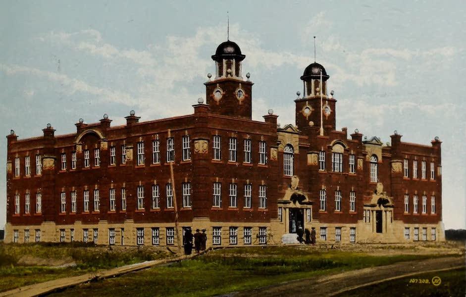 Souvenir of Edmonton, Alta. - High School (1910)