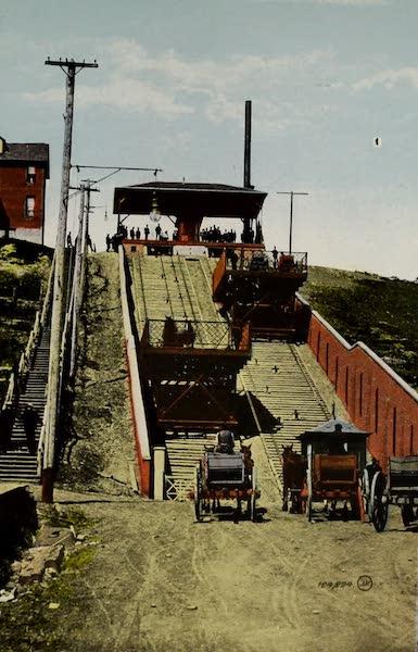 Souvenir of Edmonton, Alta. - Incline Railway (1910)