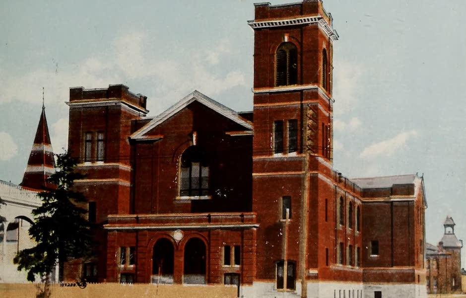 Souvenir of Edmonton, Alta. - McDougall Methodist Church (1910)