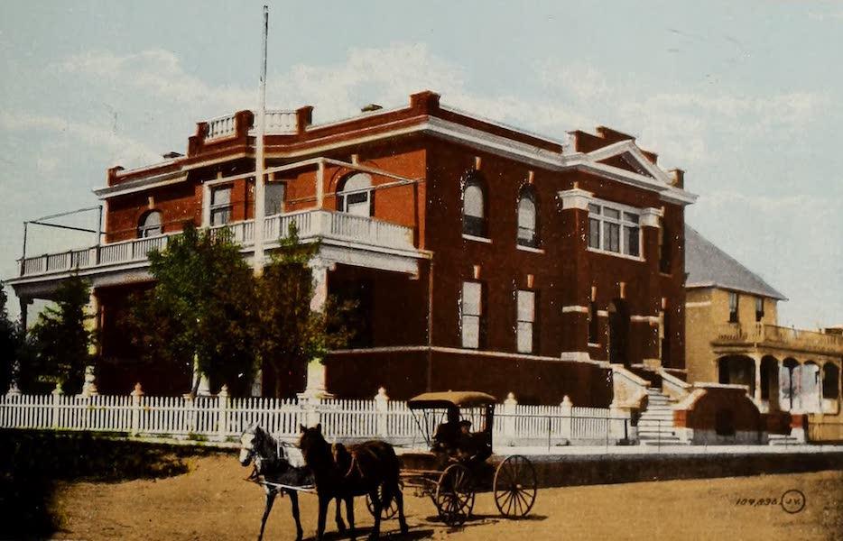 Souvenir of Edmonton, Alta. - Edmonton Club (1910)