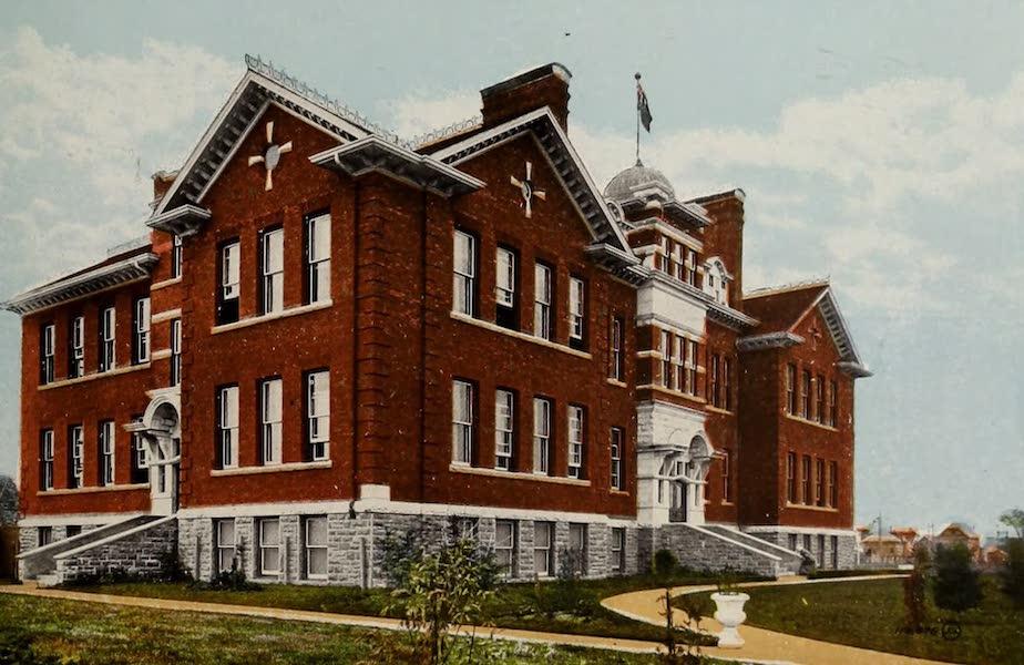 Souvenir of Edmonton, Alta. - Collegiate Institute, Edmonton South (1910)