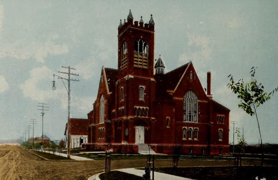 Souvenir of Edmonton, Alta. - Knox Presbyterian Church, Edmonton South (1910)