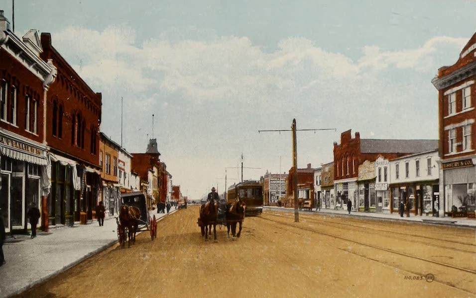 Souvenir of Edmonton, Alta. - Whyte Avenue, Edmonton South (1910)