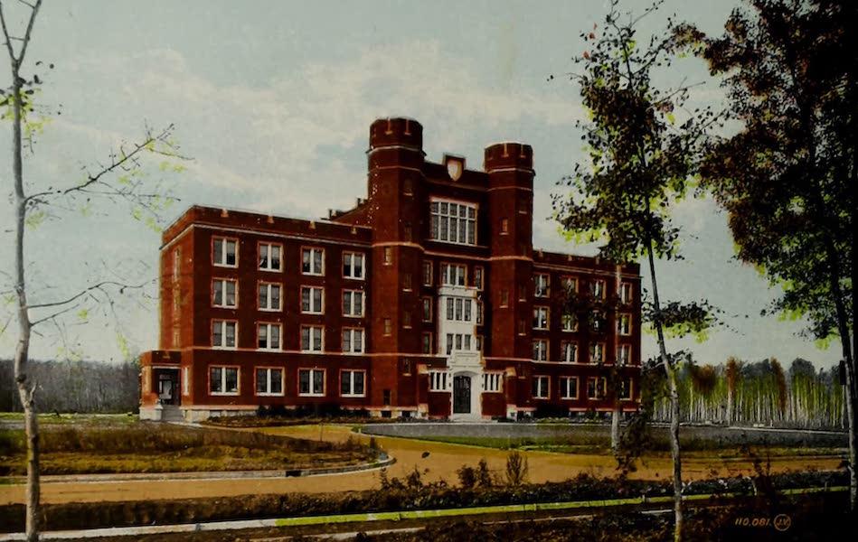 Souvenir of Edmonton, Alta. - Main Building, Alberta College, Edmonton South (1910)