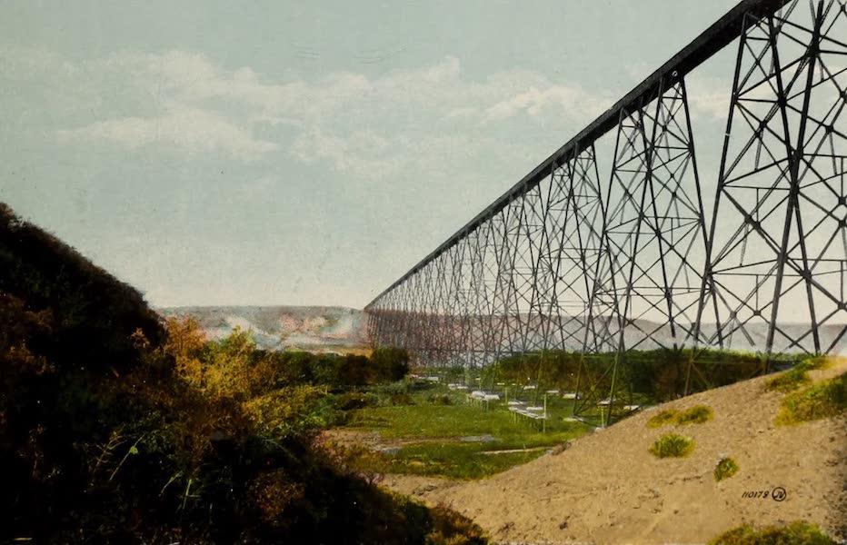 Souvenir of Lethbridge, Alta. - C.P.R. Steel Viaduct (1910)
