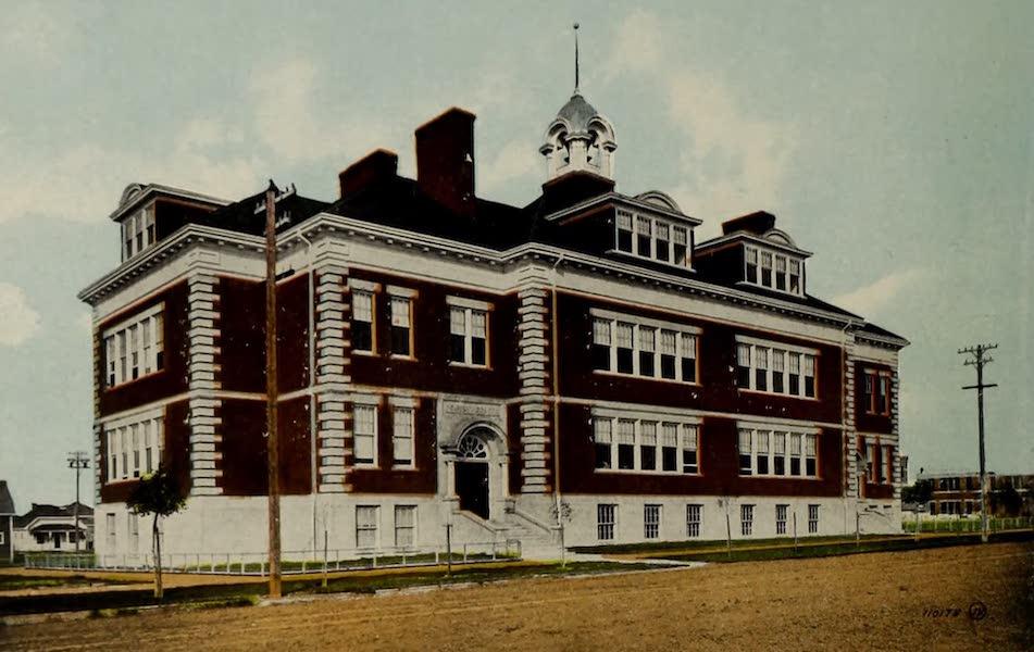 Souvenir of Lethbridge, Alta. - Central School (1910)