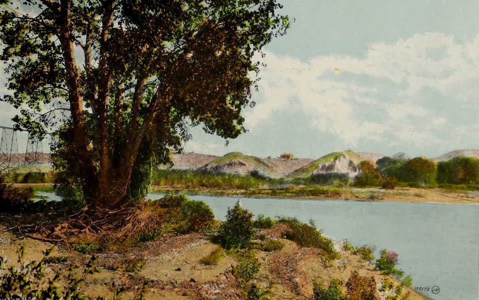 Souvenir of Lethbridge, Alta. - A Glimpse of Lethbridge from the Valley (1910)