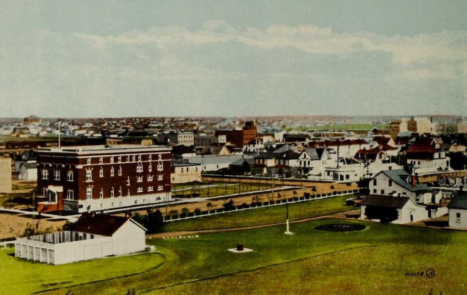 Souvenir of Lethbridge, Alta. - Birds Eye View (1910)