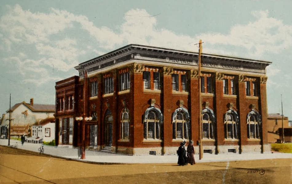 Souvenir of Lethbridge, Alta. - Royal Bank of Canada (1910)