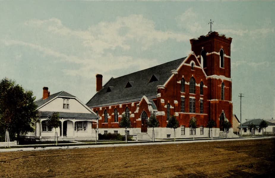 Souvenir of Lethbridge, Alta. - Knox Church (1910)