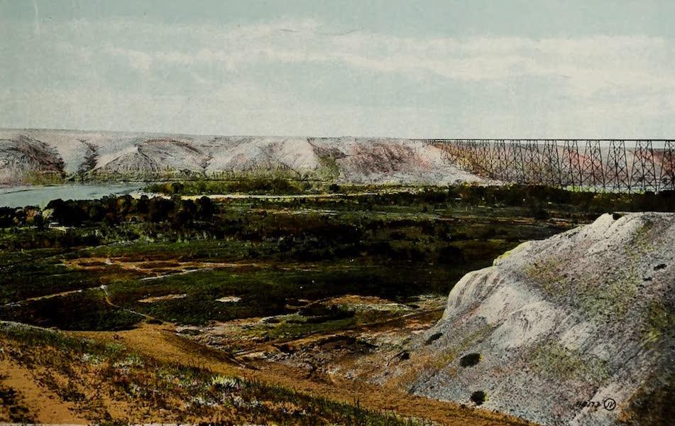 Souvenir of Lethbridge, Alta. - View of the Valley and C.P.R. Bridge (1910)