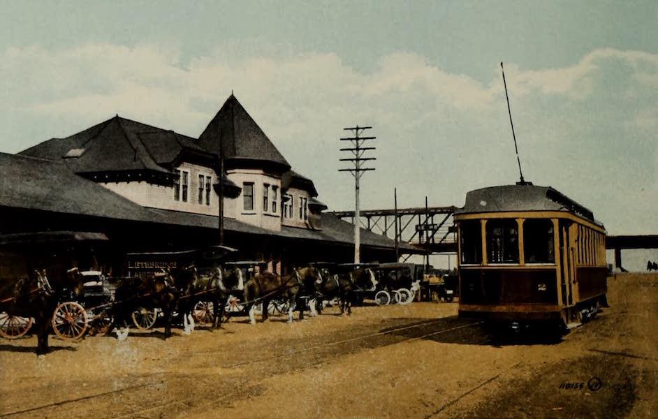 Souvenir of Lethbridge, Alta. - C.P.R. Station (1910)