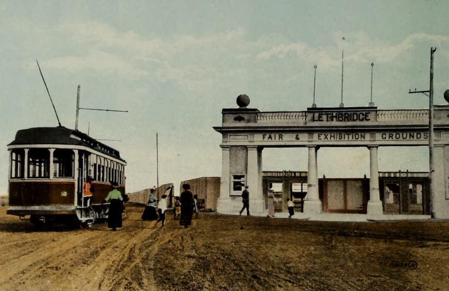 Souvenir of Lethbridge, Alta. - Entrance to Exhibition Grounds (1910)