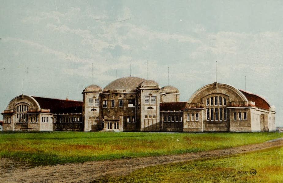 Souvenir of Lethbridge, Alta. - Main Building, Exhibition Park (1910)