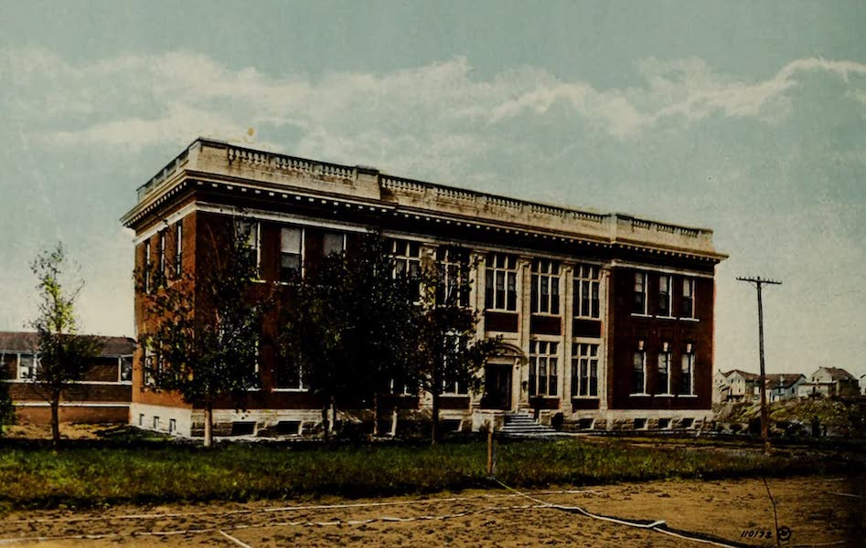Souvenir of Lethbridge, Alta. - The General Hospital (1910)